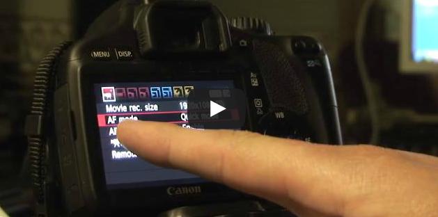 Short youtube DSLR tutorials