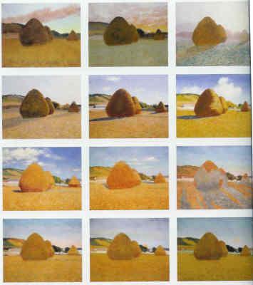 Monet – Haystacks