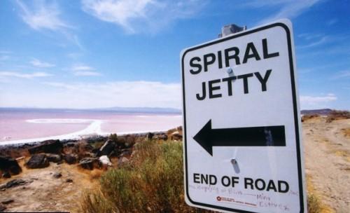 Robert Smithson – Spiral Jetty