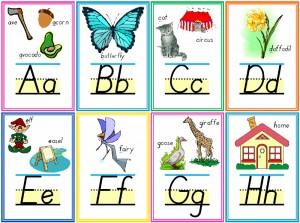 Testy Alphabet Flashcards Thumbnail
