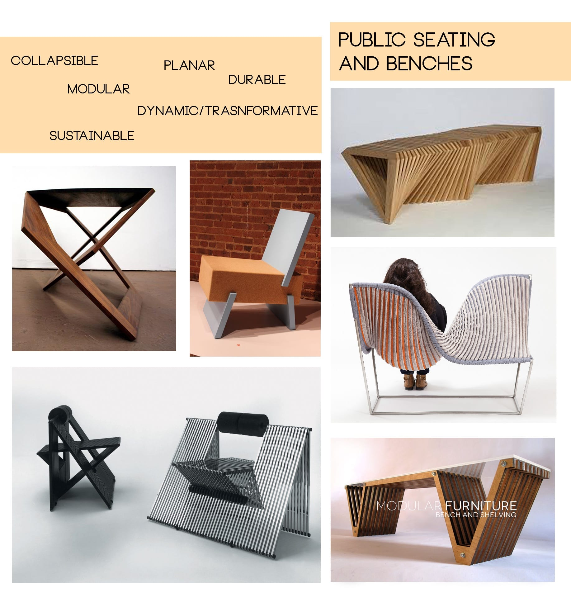 Project 3—Group Project—Modular Public Seating