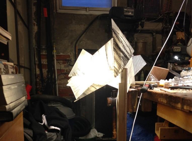 Break and hold (irregular polyhedron, illuminated)