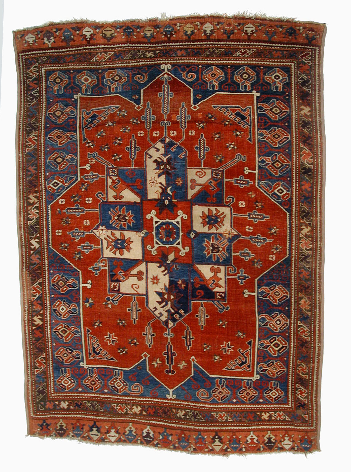 "Visual Analysis: ""Village Carpet With Medallion"""