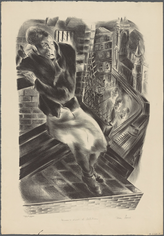 "Schomburg Center for Research in Black Culture, Art and Artifacts Division, The New York Public Library. ""Women's House of Detention"" The New York Public Library Digital Collections. 1935 - 1943. http://digitalcollections.nypl.org/items/77782ee0-d56d-0131-f1ac-58d385a7bbd0"