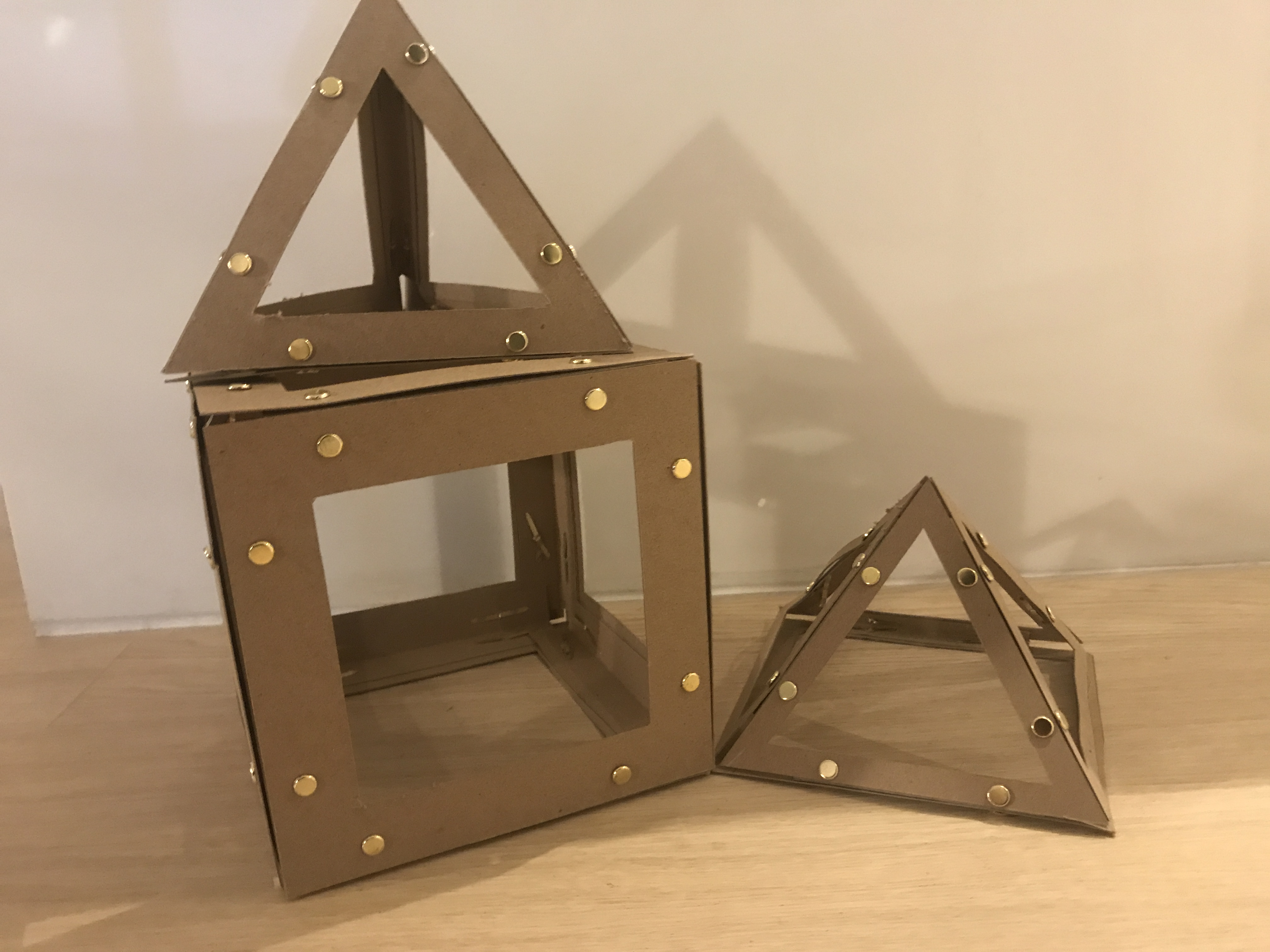 Assignment #8 -Cardboard Polyhedron
