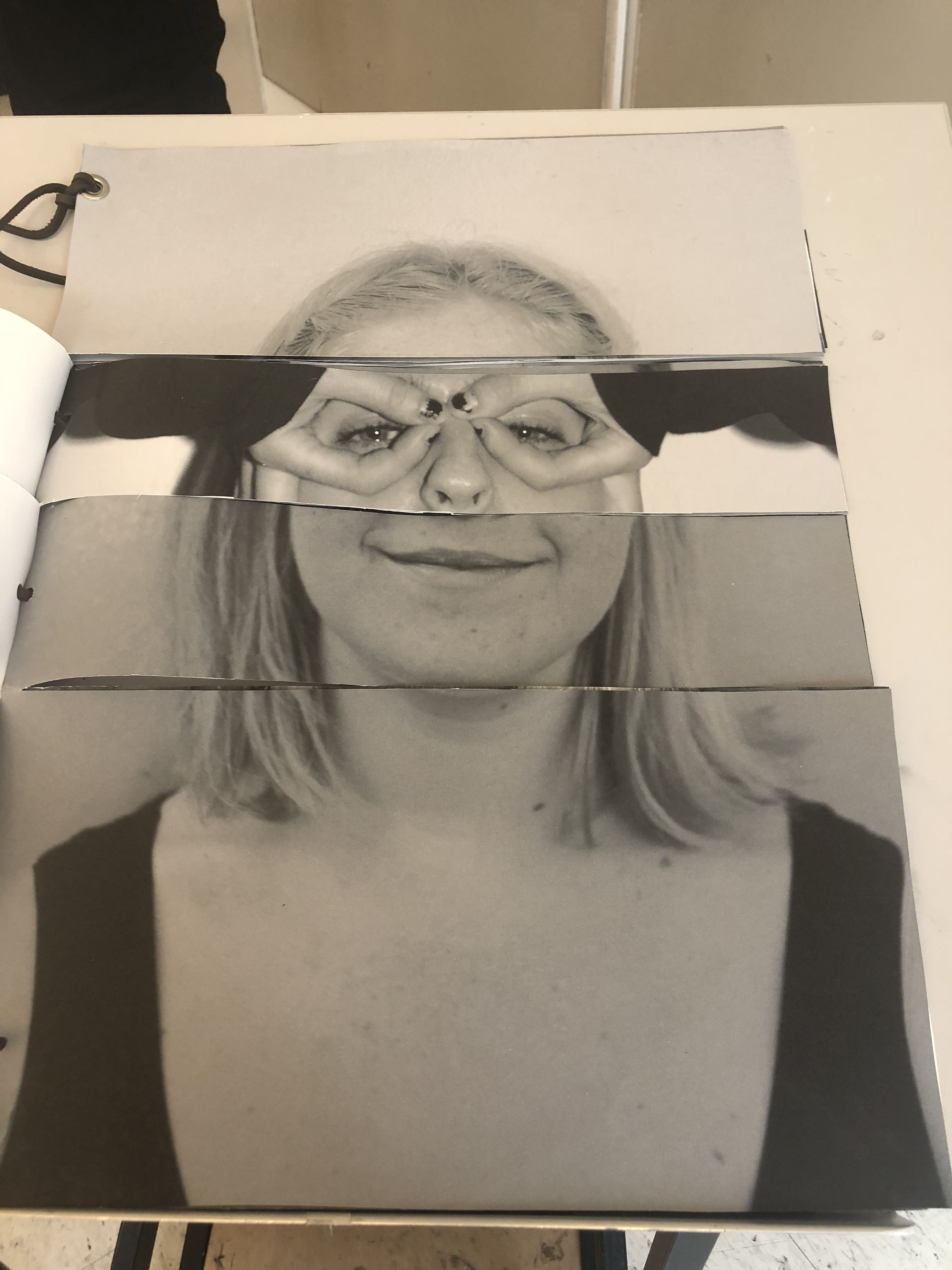 IMAGE / TEXT Portrait/Self-Portrait, Peer to Peer assignment