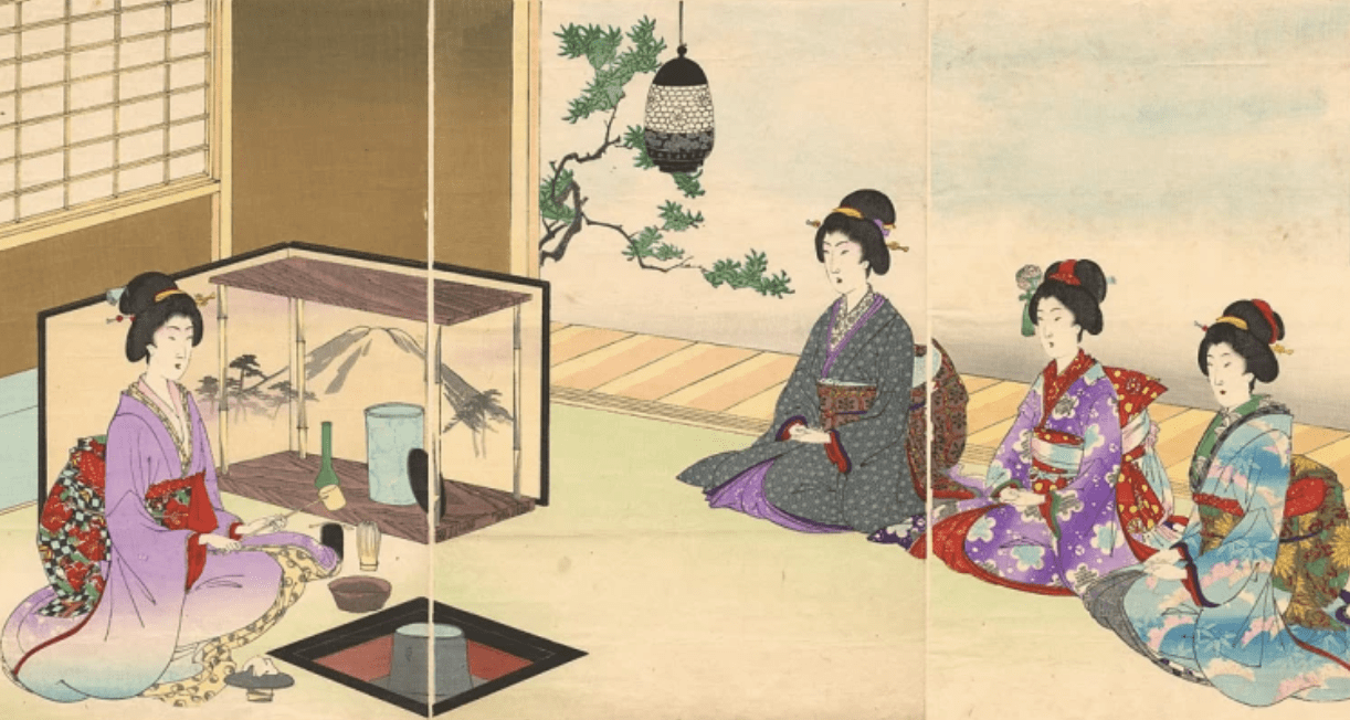Japanese tea ceremony reflection