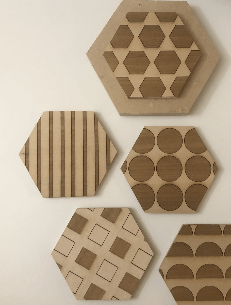 [ digital craft ] coding patterns – turning them into coasters
