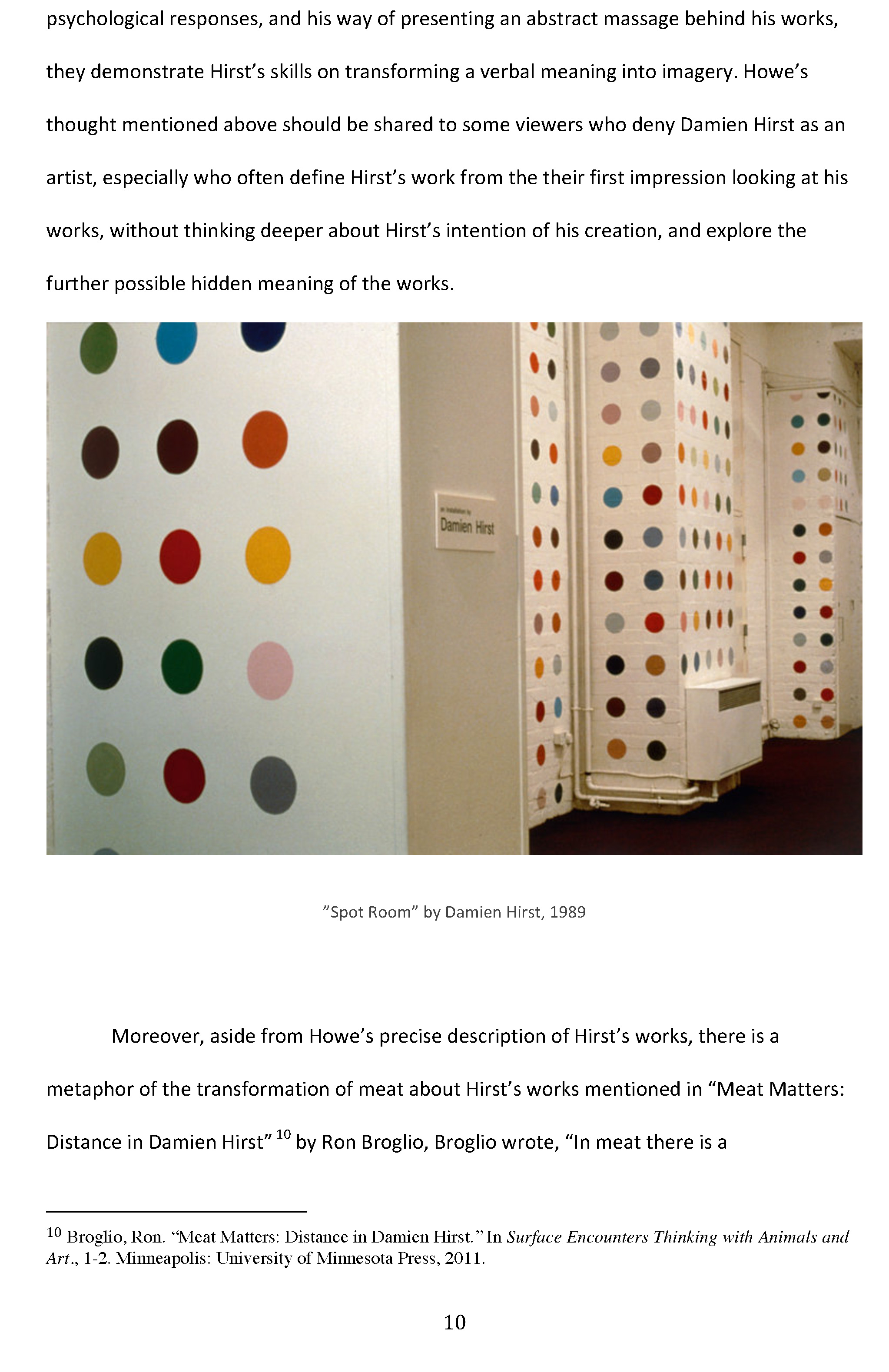 int seminar 2 final essay is damien hirst a real artist