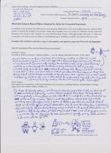 Curatorial Analysis Pg 1