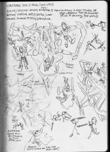 Steam Heroes Sketch 1