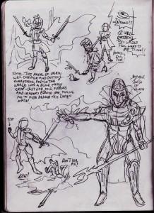 Steam Heroes Sketch 2