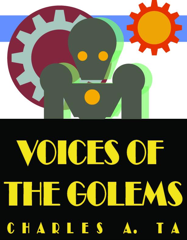 Voices of the Golems (Original Book Cover)