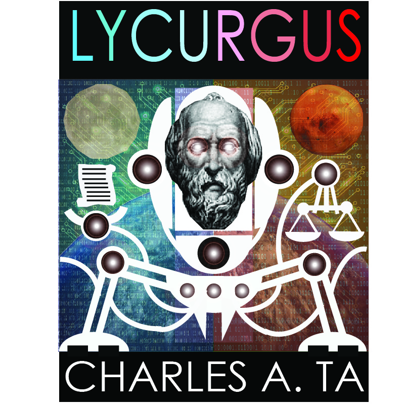 Lycurgus 2nd Story Book Cover (Original)
