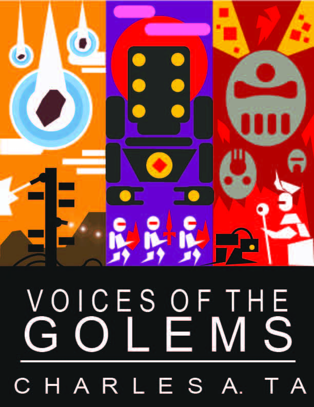 1st Minimalist Voices of the Golems Book Cover