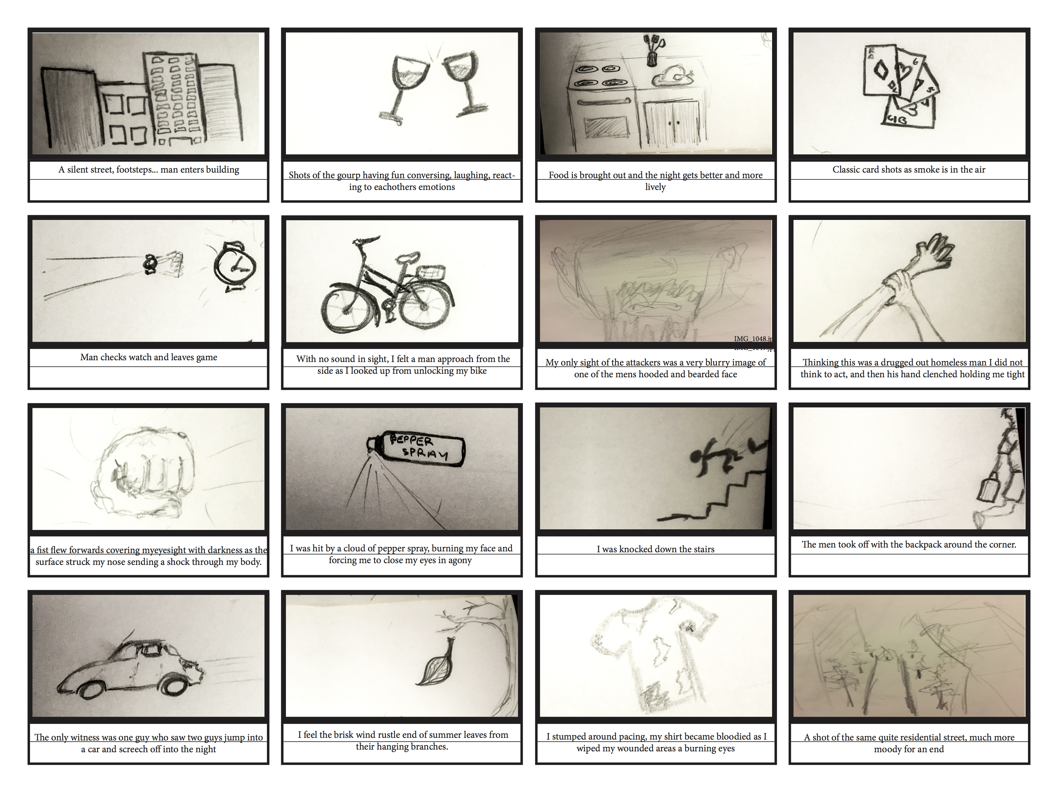 Time: Composition Storyboard