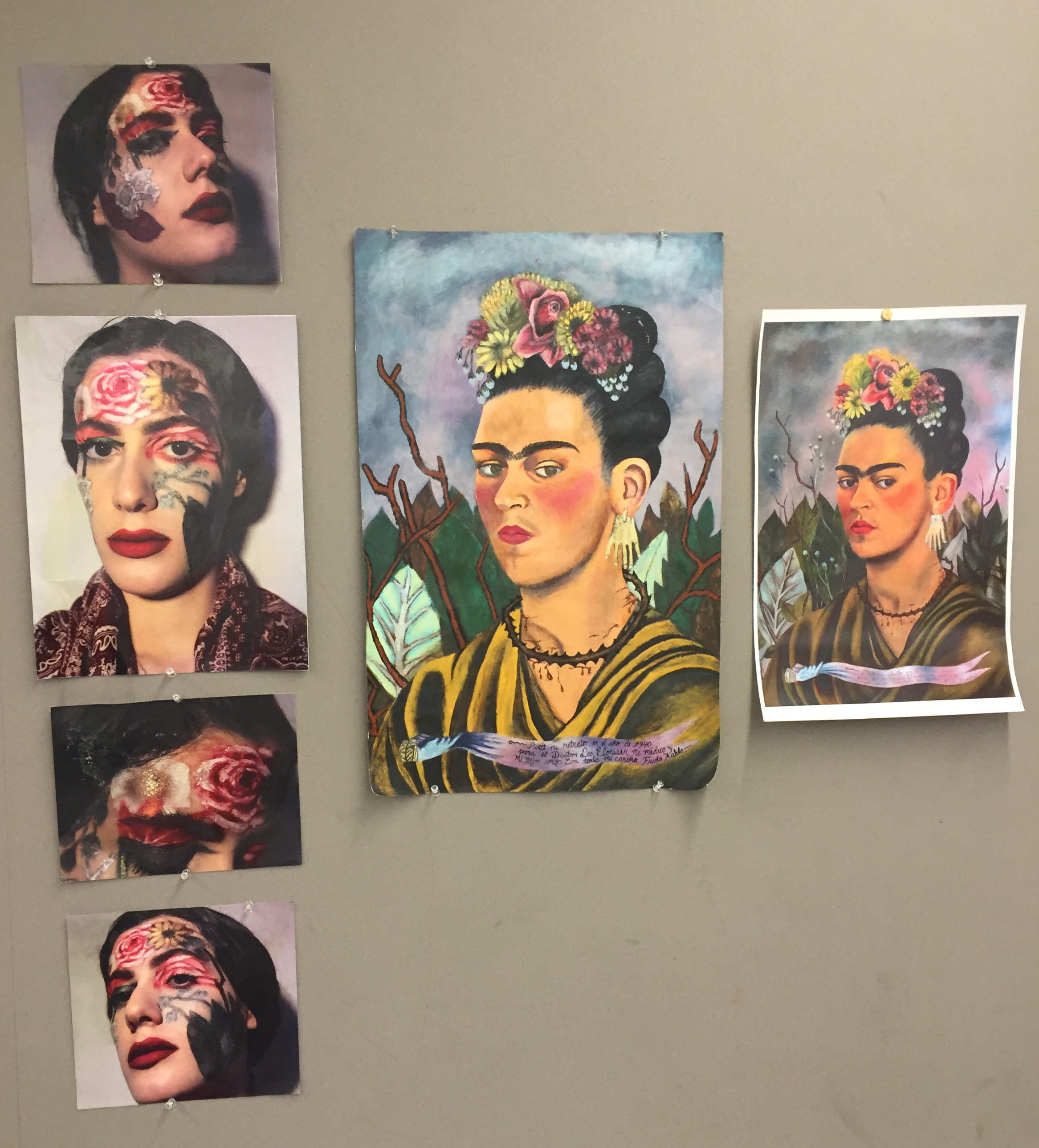 Studio Research Project – Frida Kahlo