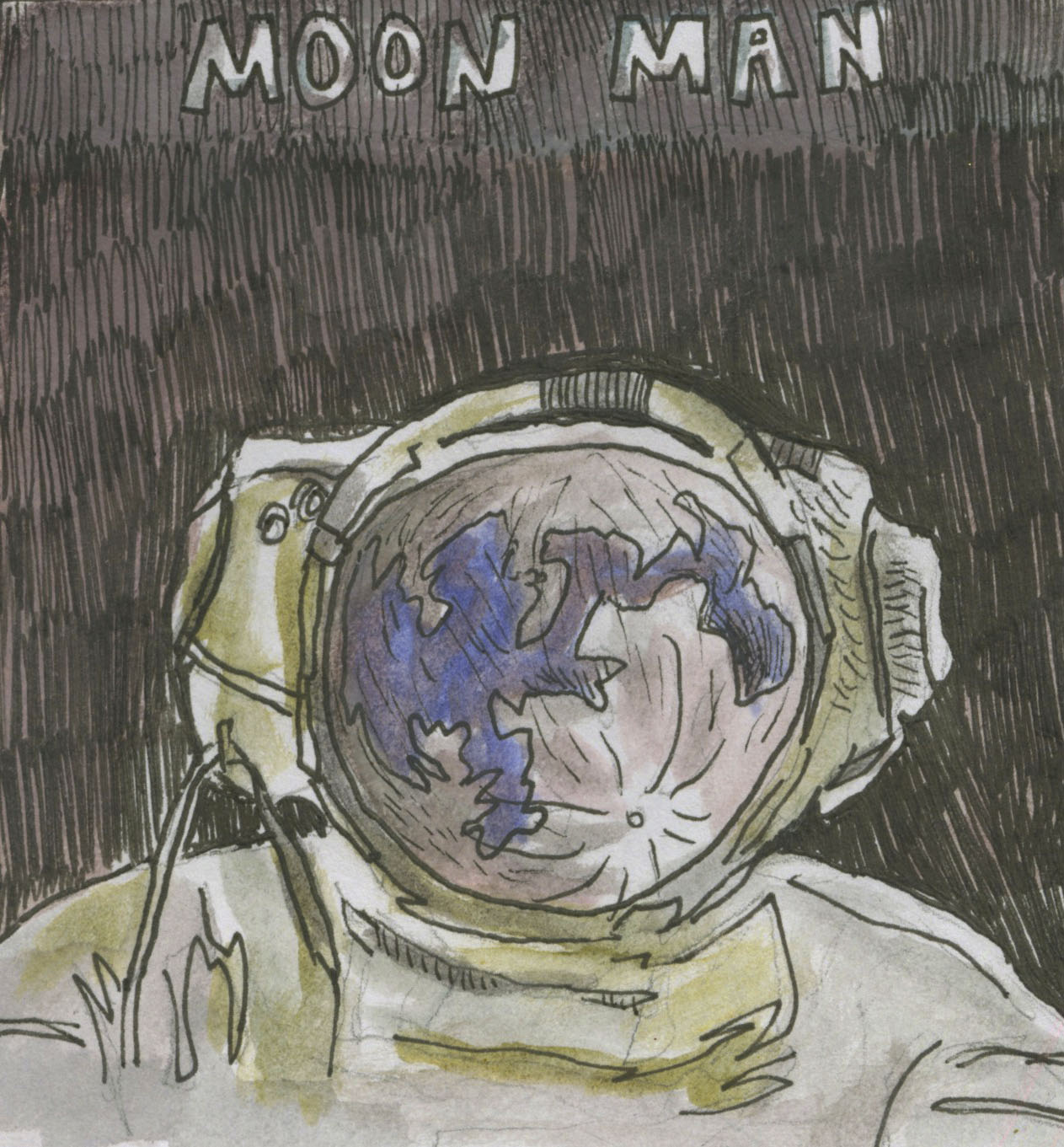 Comic: Moon Man