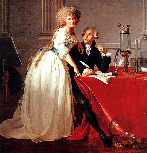 History Essay 1: Formal Analysis Essay Jacques-Louis David: Portrait of Antoine-Laurent Lavoisier and His Wife