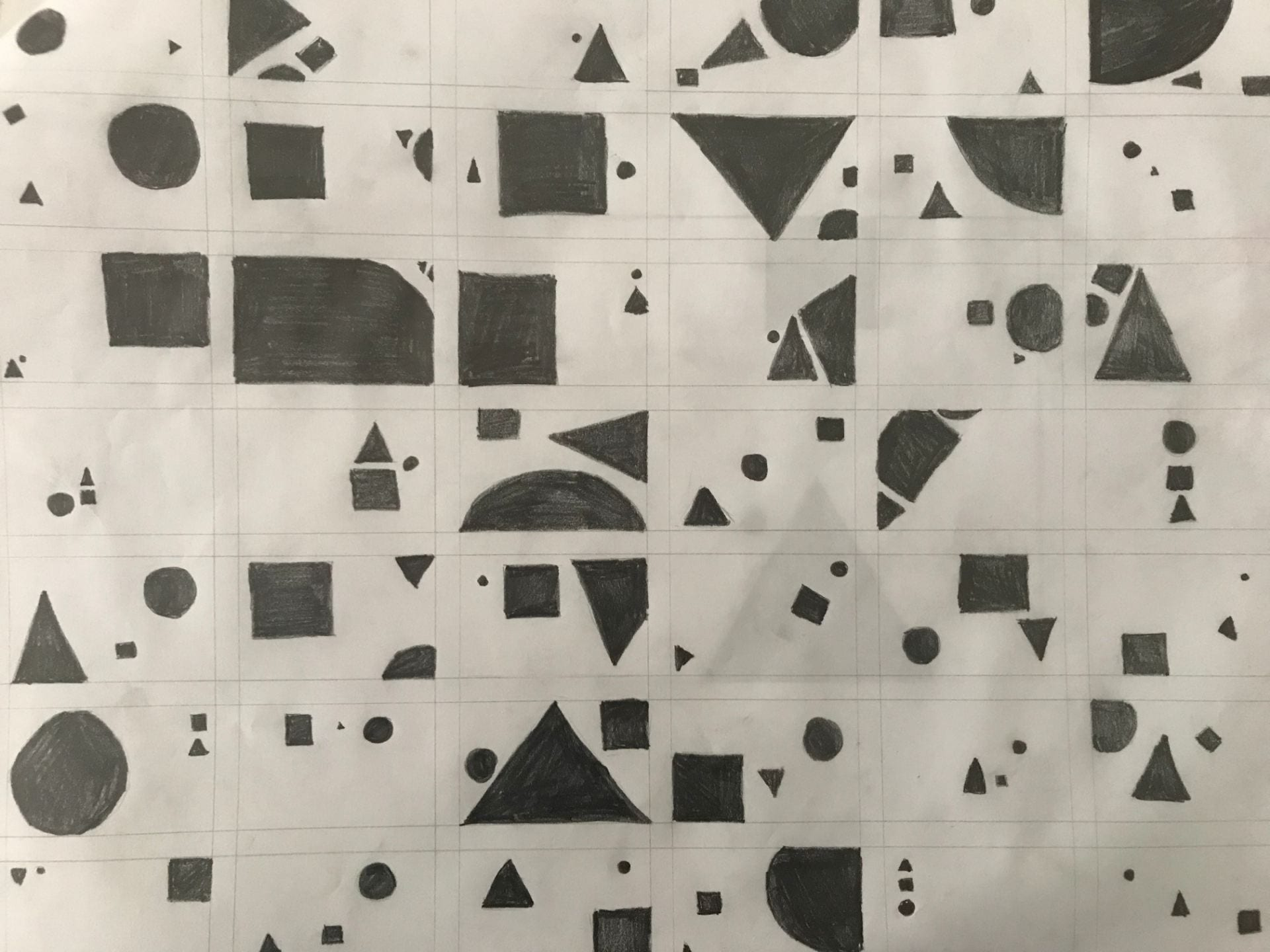 Thumbnail Exploration and Layout (Square, Triangle, Circle)