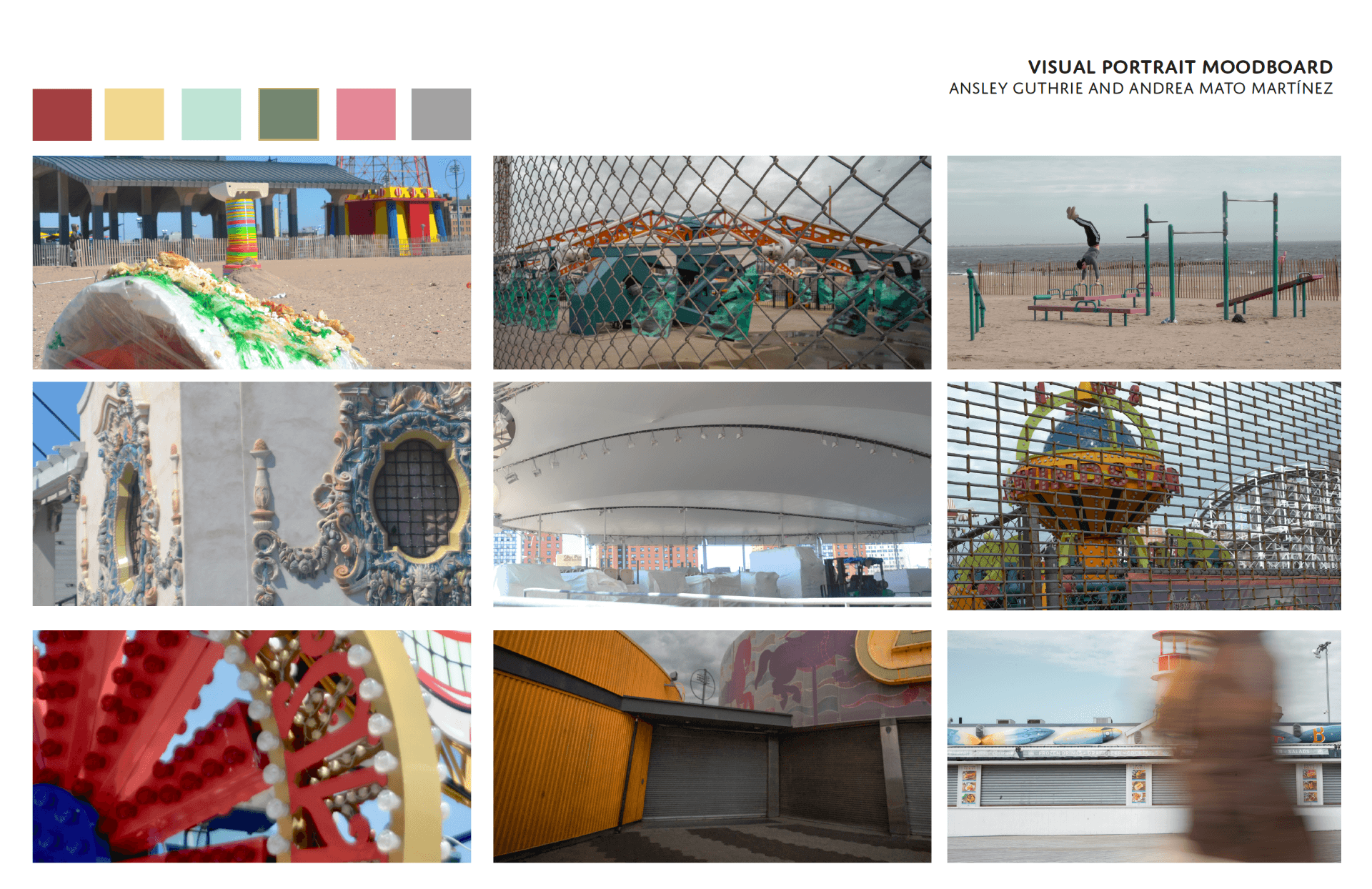 Visual Portrait of Coney Island