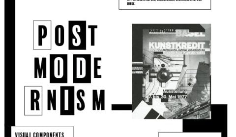 Poster and Presentation Design (Postmodernism Graphic Design)