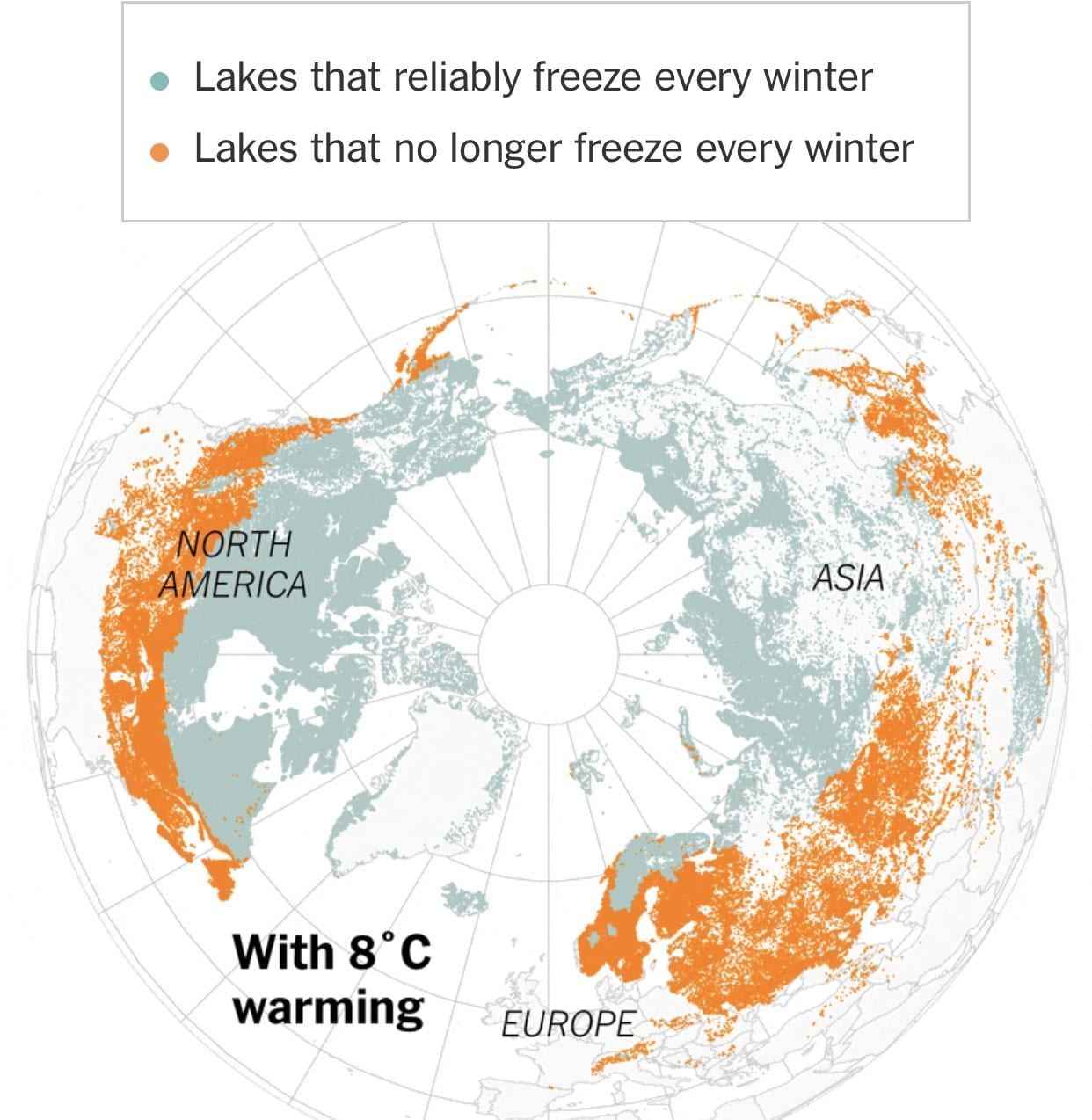 Climate Change Could Leave Thousands of Lakes Ice-Free #Sustainable system