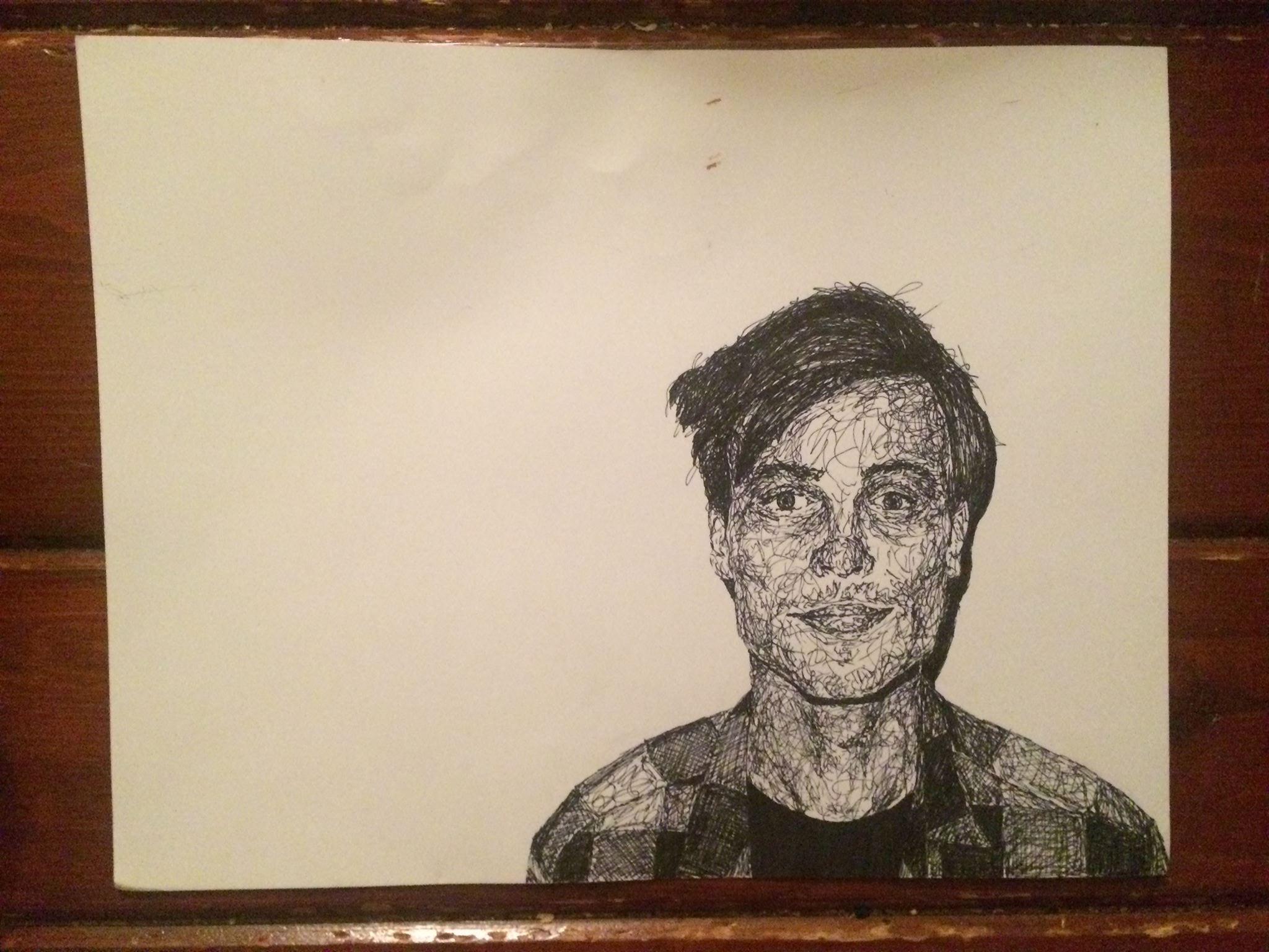 Portrait of Matthew–Progress