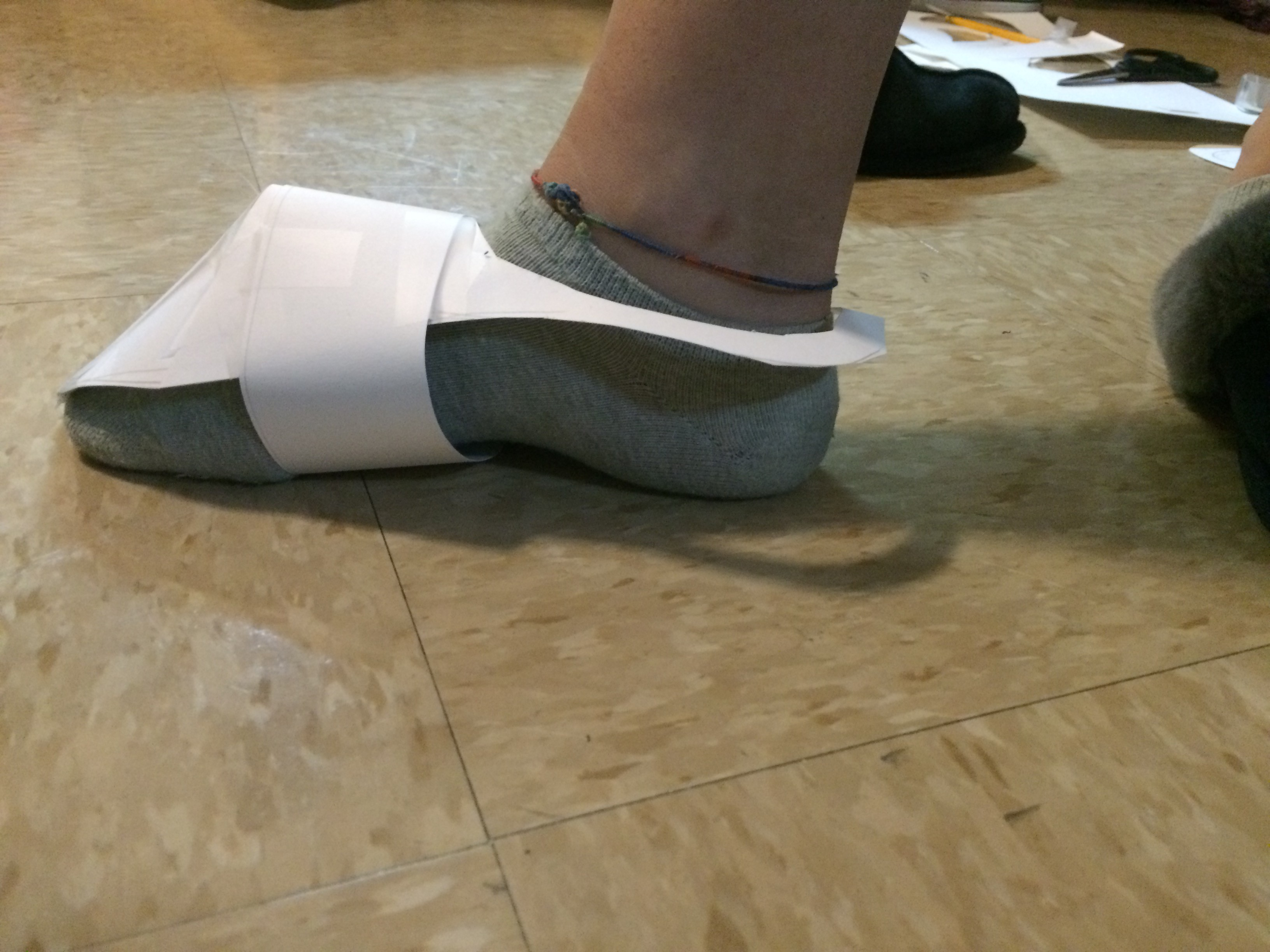 Shoe (Prototype, Progress, and Final)