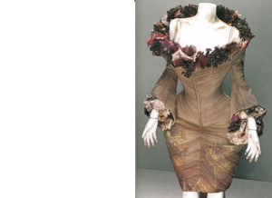Inspiration from McQueen's dress