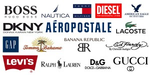 Numerous clothing brands have differentiating styles.