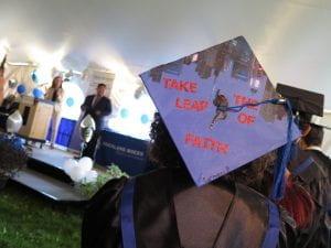 Grad nursing cap