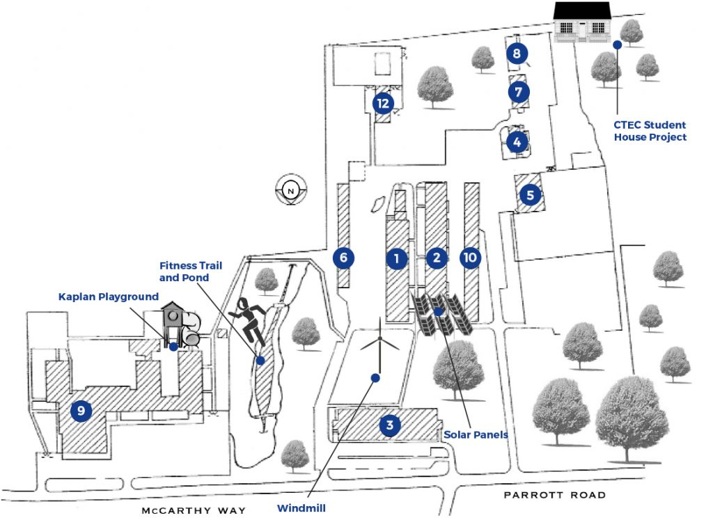 West Nyack Campus Map