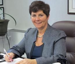 Dr. Marsico at her desk
