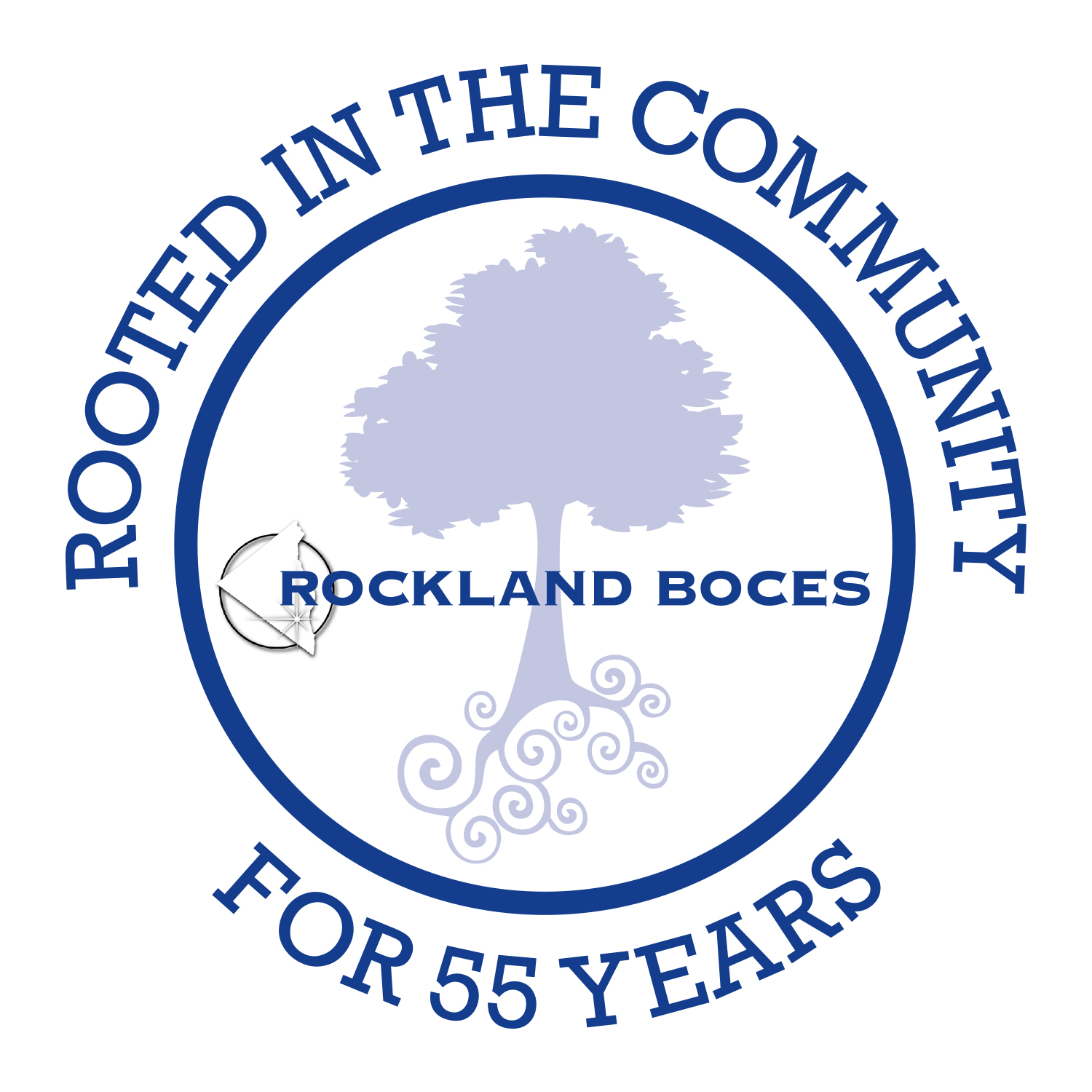 Rockland BOCES 55th Anniversary Logo