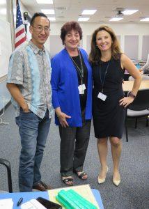 Greg Tang, Charlene Jordan and Kleo Girandola