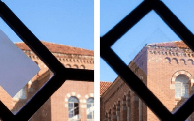 A smart window that can enhance privacy protection and reduce building energy consumption