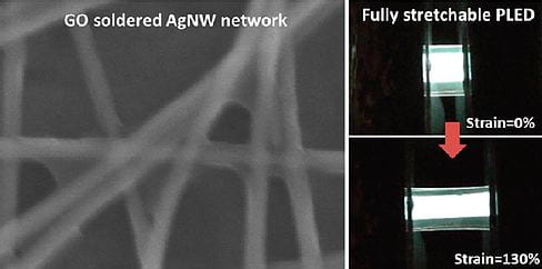 Silver Nanowire Percolation Network