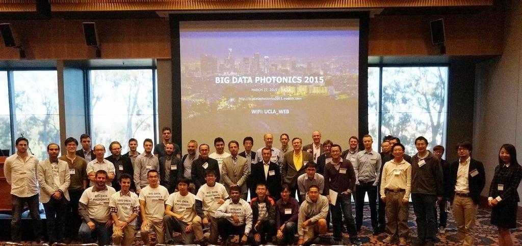 Big Data Photonics 2015 Group Photo