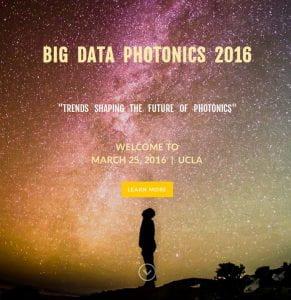 Big Data Photonics Workshop 2016 Cover