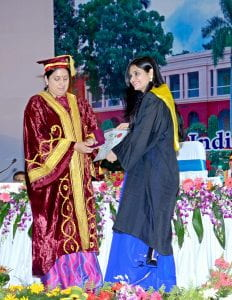 Madhuri Bachelor Commencement Ceremony