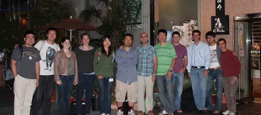 The lab group picture