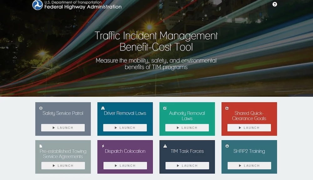 Traffic Incident Management Tool