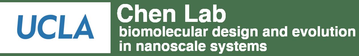 Chen Lab: biomolecular design and evolution in nanoscale systems