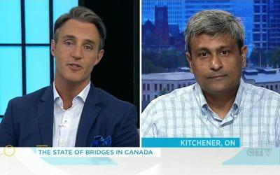 Professor discusses Canada's infrastructure on CTV