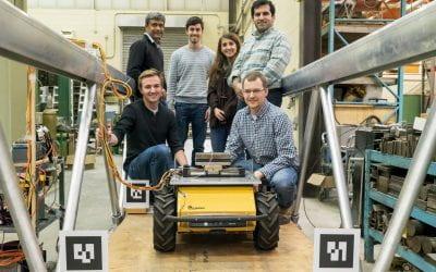 Deployable, Autonomous Vibration Control of Bridges Using Husky UGV