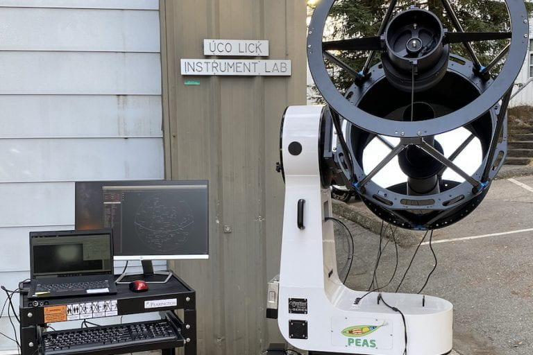 PEAS is on its way to begin testing at Lick Observatory