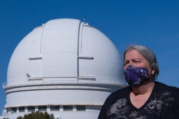 With a focus on public safety, Lick staff member turns to making masks