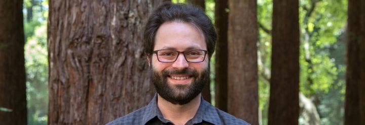 Portrait of UC Santa Cruz Assistant Professor of Chemistry & Biochemistry Alexander Ayzner