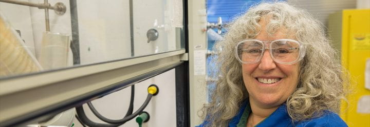 Portrait of UC Santa Cruz Professor of Chemistry & Biochemistry Rebecca Braslau